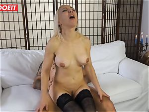 sizzling cougar gets torn up hardcore in first time audition
