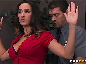 Ashley Adams gets porked by two cops