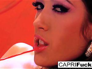 Capri Cavanni eventually humps London Keyes