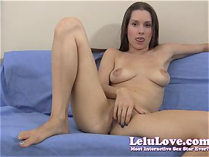 She gives YOU very detailed masturbation command